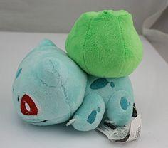 "X and Y Bulbasaur Pokemon 5"" Anime Animal Stuffed Plush P..."