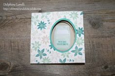Shimmer and Shine - Peek a boo card (stampin'up)