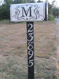 mailbox makeover...