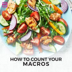 Women, out with the old and in with the new. Here's why and how you should count your macros, and not just your calories to get the fit, toned body you want