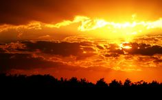orange sky - Google Search
