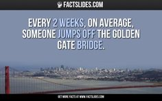 15 facts you didn't know about... THE GOLDEN GATE BRIDGE