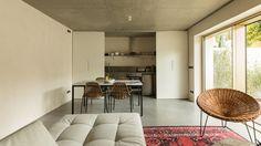 Bak Gordon converts traditional Lisbon house into apartments that open onto a private courtyard