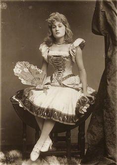 Belle Bilton by Alexander Bassano 1889