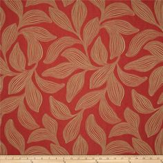 chair covers  Robert Allen Promo Bharati Jacquard Sumac from @fabricdotcom  This rouched (puckered, dimensional) fabric is heavyweight and perfect for accent pillows and upholstering headboards, cornices and more.