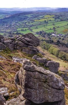 Honeybag Tor, Dartmoor, Devon via @RachelBurch2 on twitter
