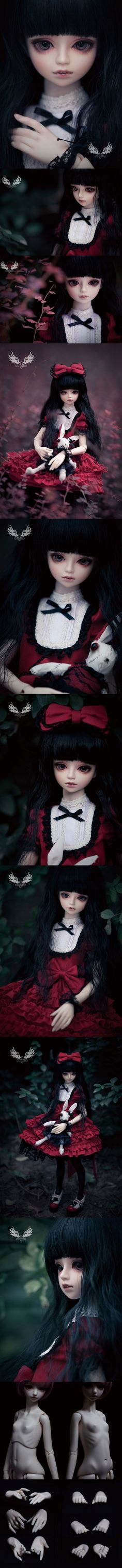 BJD Laurel 45cm Girl Ball Jointed Doll_Smart (1/4 size)_SPIRIT DOLL_DOLL_Ball Jointed Dolls (BJD) company-Legenddoll
