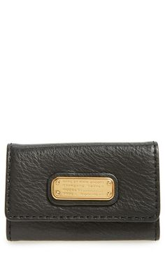 MARC BY MARC JACOBS 'New Q' Key Case. #marcbymarcjacobs #bags #leather