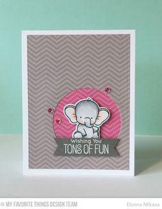 Adorable Elephants, Adorable Elephants Die-namics, Blueprints 24 Die-namics - Donna Mikasa  #mftstamps