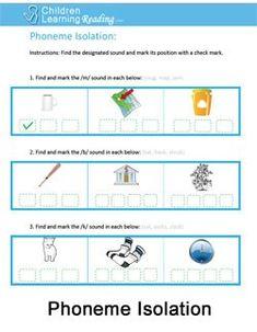 Phoneme Substitution Worksheets Amp Phoneme Manipulation