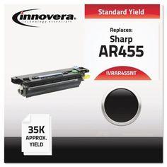 Compatible with AR455NT Laser Toner IVRAR455NT, Black
