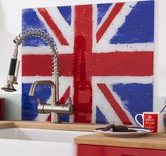 Union Jack Backsplash!