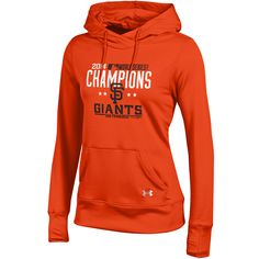 San Francisco Giants Women's 2014 World Series Champions French Terry Pullover Hood - MLB.com Shop