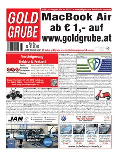 Macbook Air, Event Ticket, Graz, Reading