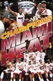 Miami Heat 2012 NBA Champions Celebration Posters