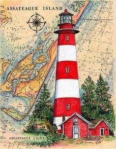Assateaque Island Lighthouse (Donna Elias)