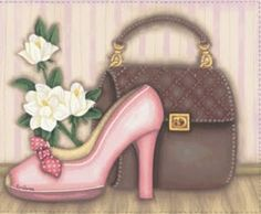 les meli melo de mamietitine - Page 47 Interesting Drawings, Pocket Letters, Blue Butterfly, Cute Illustration, Illustrations, Cute Shoes, Awesome Shoes, Vintage Images, Women's Accessories