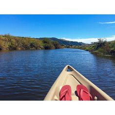Lazy kayak cruise with some of the most amazing views in the Otways on a hot #NYE arvo  by jaceylws http://ift.tt/1LQi8GE
