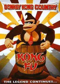 Donkey Kong Country: Kong Fu