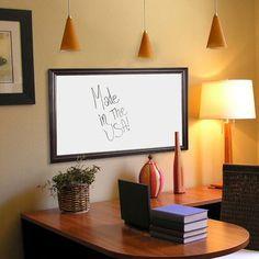 """Rayne Mirrors Wall Mounted Whiteboard Size: 28"""" x 88"""""""
