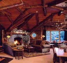 small log cabin interiors cabin interior interior design log homes for nifty images about log cabin interior on luxury log cabin interior log cabin interior design small log cabin interior pics Winter Lodge, Cozy Winter, Winter Holiday, Cabin Interior Design, Interior Ideas, Design Homes, Estilo Interior, Log Cabin Homes, Log Cabins