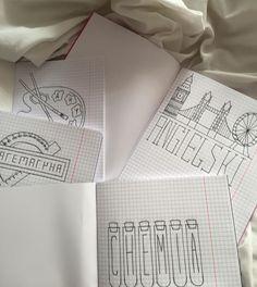 School Organization Notes, Notebook Organization, School Notes, Biology Projects, Cute Little Drawings, School Suplies, Stabilo Boss, School Notebooks, Pretty Notes