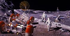 US and Russian Engineers Examine the Possibility of a Multinational Moon Base