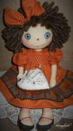 Autumn Blessings Annie ~ charmingsbycmh