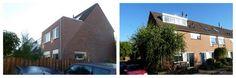 Opbouw verhogen tot schuin dak, 1e verdieping