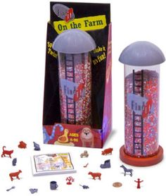Find It On the Farm: farm themed distraction toy develops concentration & focus, cognitive, language, communication & social skills, played alone or with multiple players; learn about farm life Hidden Object Games, Hidden Objects, Family Games, Games For Kids, Farm Games, It Game, Stress Relief Toys, Farm Party, Milk Jug