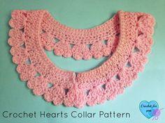 Crochet Hearts Collar Pattern/Edging - Media - Crochet Me
