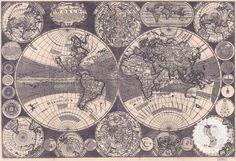 World Map 1702