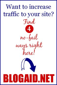 Advice for driving more traffic to your site that any blogger can understand!
