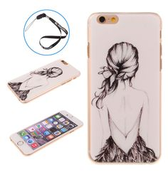 Amazon.com: Horizontal Fashion Super Slim Back Snap On Case Cover Shell for Apple iPhone 6 Plus 5.5 inch+ Big Dragonfly Logo Handstrap (Paris Eiffel Tower): Cell Phones & Accessories