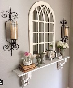 81 Cozy And Inviting Farmhouse Entryway Decorating Ideas 81 Cozy And Inviting F. 81 Cozy And Inviting Farmhouse Entryway Decorating Ideas 81 Cozy And Inviting Farmhouse Entryway D Country Decor, Farmhouse Decor, Farmhouse Ideas, Modern Farmhouse, Farmhouse Budget, Farmhouse Stairs, Farmhouse Mirrors, Rustic Decor, Home Living Room