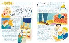 Anorak Magazine - Jayde Perkin Illustration