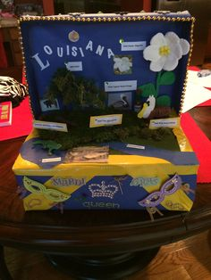 Louisiana state float project Front of project