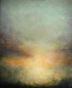 Maurice Sapiro ~ Let There Be Light (oil)