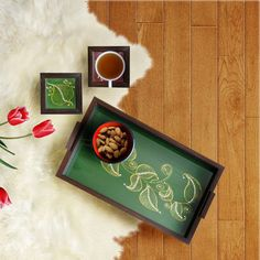 Handmade trays and coasters made by our local artists. A perfect reason to plan you next tea party. **TAG YOUR TEA PARTNER** . . . #indianinspired #homedecoration #homeinspiration #interiordesign #somethingilove #unleashingcreativity #instagood #instahome #instadecor #indianhome #decor #decoration #onthetable #homedecor #homedesign #homedecoration #homeiswheretheheartis #homesweethome #indiandecorideas #interior4you #antiques #indianhomedecor #lonelyplanetindia #serving…