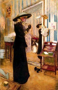 """Édouard Vuillard: """"Charlotte Lysés"""""""