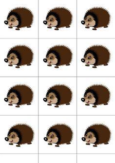 Numbers Preschool, Winter Crafts For Kids, Alphabet Worksheets, Forest Animals, Toddler Activities, Elementary Schools, Hedgehog, Education, Math