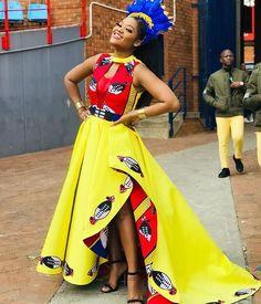 African Wear Dresses, African Fashion Ankara, Latest African Fashion Dresses, African Print Fashion, African Prints, African Outfits, African Clothes, South African Traditional Dresses, Traditional Outfits