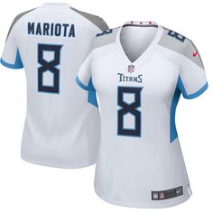 f299a0c7843 Women s Tennessee Titans Marcus Mariota Nike White New 2018 Game Jersey