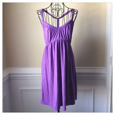 """Cute Light Purple Racerback Sun Dress   Pre-Loved Light Purple Racerback Sun Dress from Mossimo  Gently Pre-Loved -- Some light piling from being worn and washed, but it is not really noticeable when worn -- no stains, rips, tears or defects  Super comfy with a flattering cut!  ~32.5"""" in Length   No Trades  ‼️ ELIGIBLE FOR MY $4 BUNDLE SALE! ‼️ Mossimo Supply Co. Dresses"""