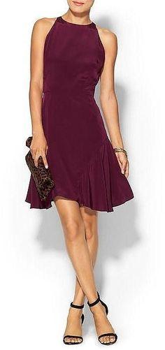 marsala color pantone fashion trend #benchbagstheblog #outfit #dress