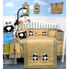 An alternative to blue, pink, or brown baby nurseries is a panda themed baby nursery. With a multitude of accent colors to choose from when designing...