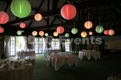 Fully lit paper lantern canopy Wedding Chinese lantern canopy hire, Herts, Beds and Bucks  #bdjcevents #eventlighting #partylighting #venuedressing #ledtablecentres #paperlanterncanopy