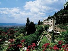 Villa San Michele Fiesole. One of the five luxury hotels owned by Oreint-Express in Italy!