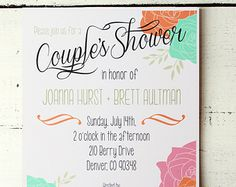 Jack and Jill Party Favors | ... Jack and Jill Shower Coed Shower Modern Vintage Wedding Floral