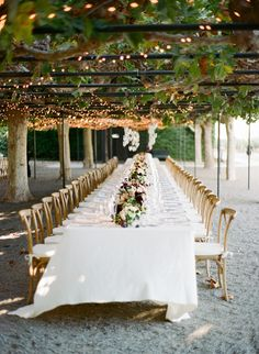 Elegant Napa Valley garden wedding table decor: Photography: Josh Gruetzmacher - http://www.joshgruetzmacher.com/